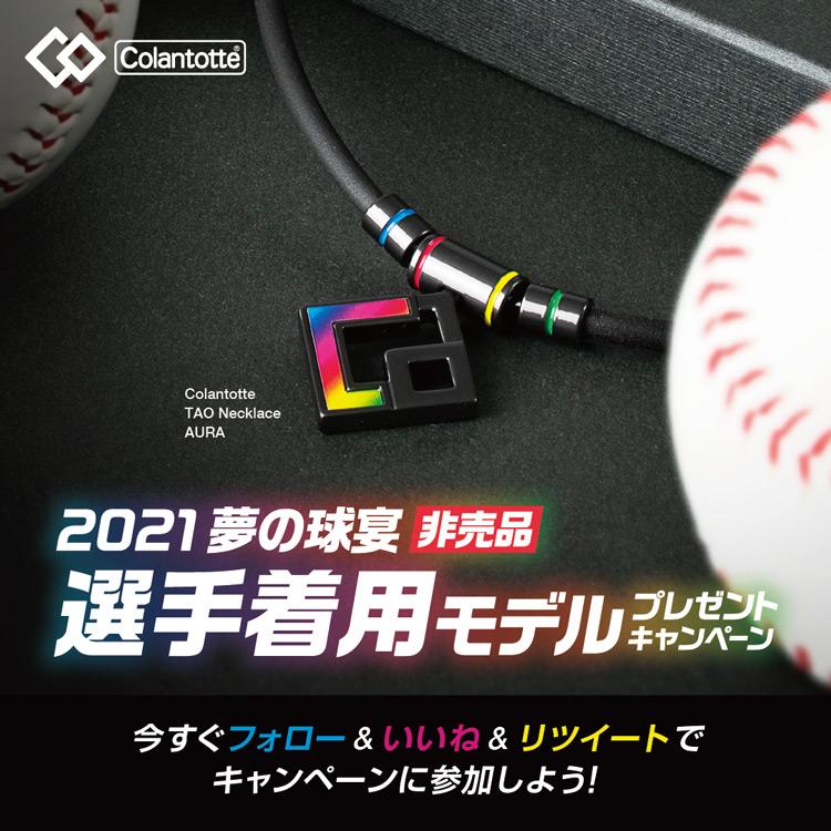 【Twitterキャンペーン】プロ野球2021年夢の球宴「選手着用モデル」プレゼント!今すぐフォロー&いいね&リツイートでキャンペーンに参加しよう!