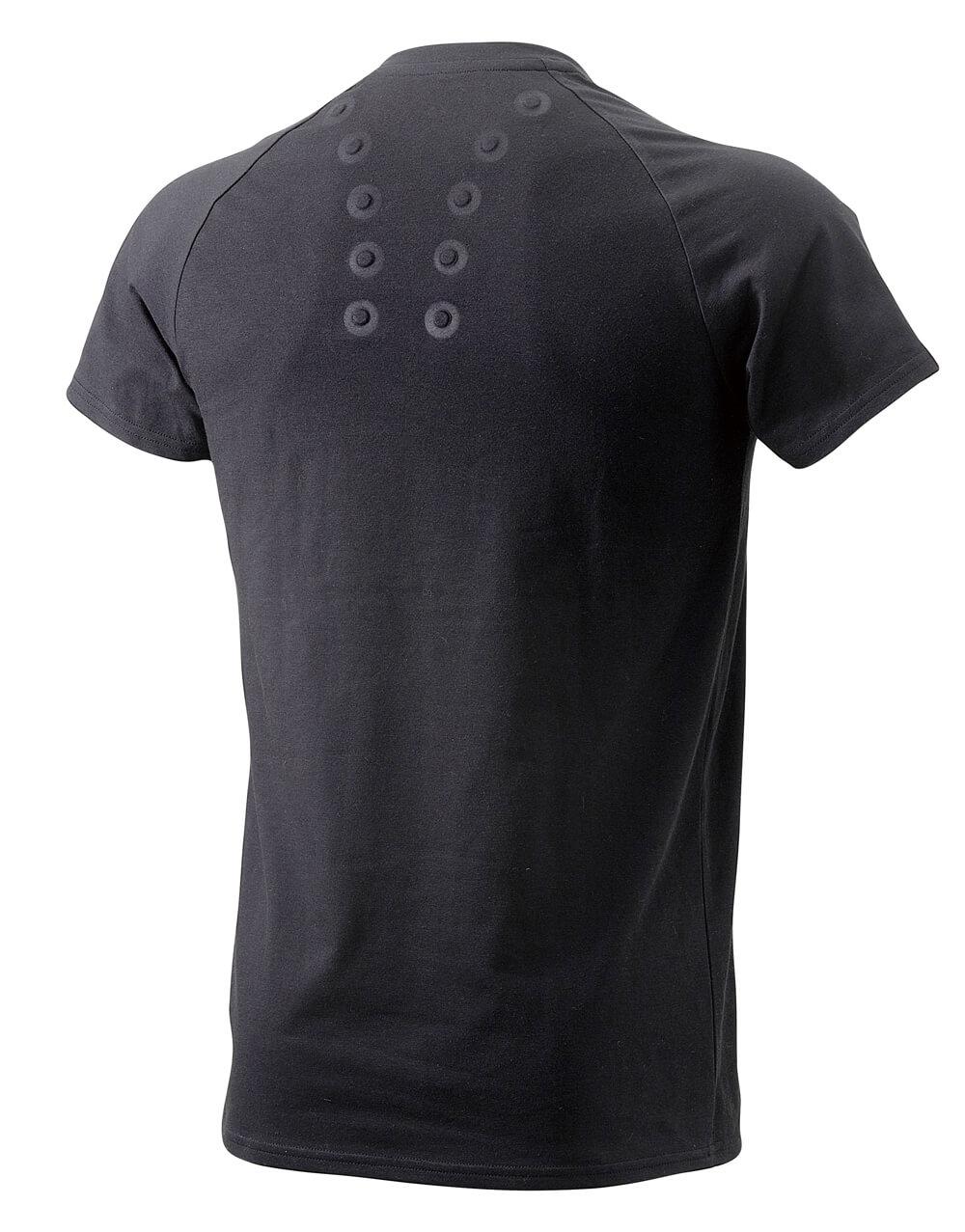 コラントッテ レスノ マグケアシャツ Vネック T(ブラック Back)