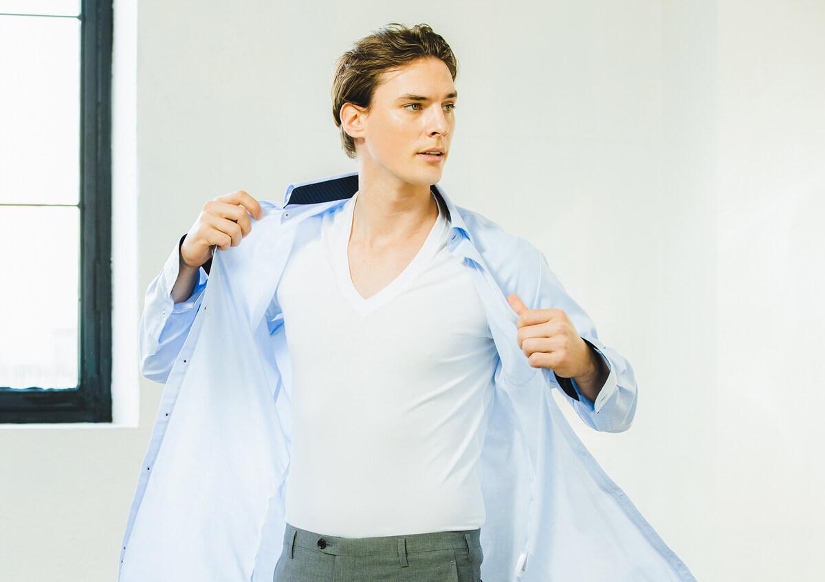 コラントッテ レスノ マグケアシャツ Vネック T 価格¥3,960/税込
