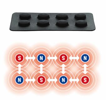 MAG-RA(マグーラ) 磁石配置図