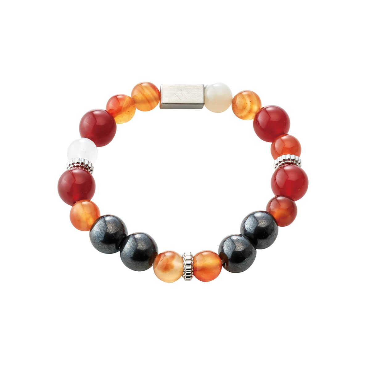 赤メノウ × カーネリアン