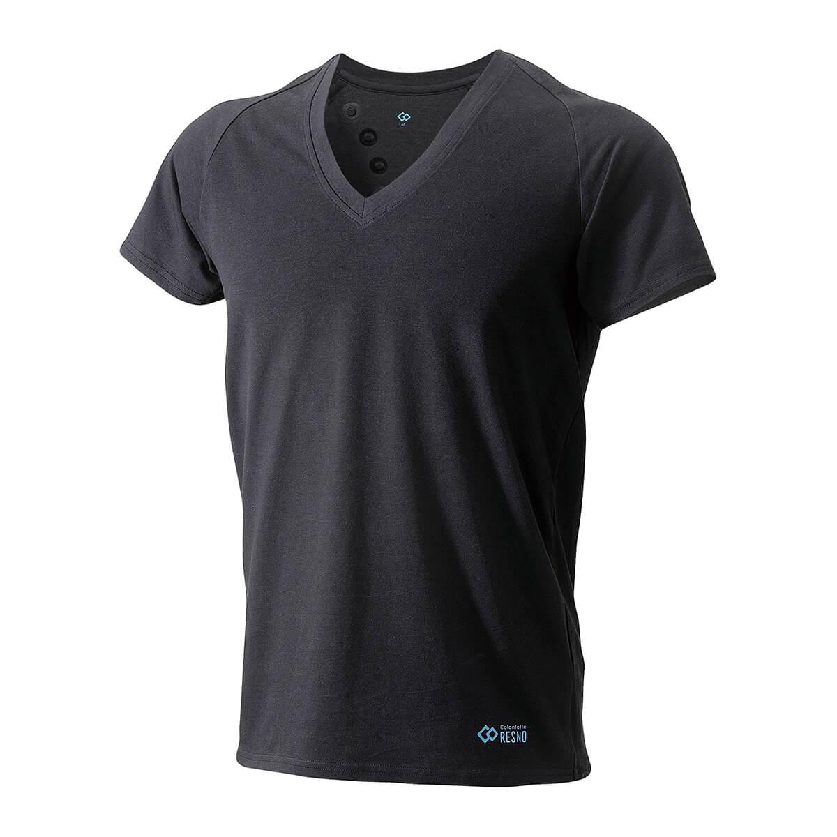 コラントッテ RESNO マグケアシャツ Vネック T ブラック