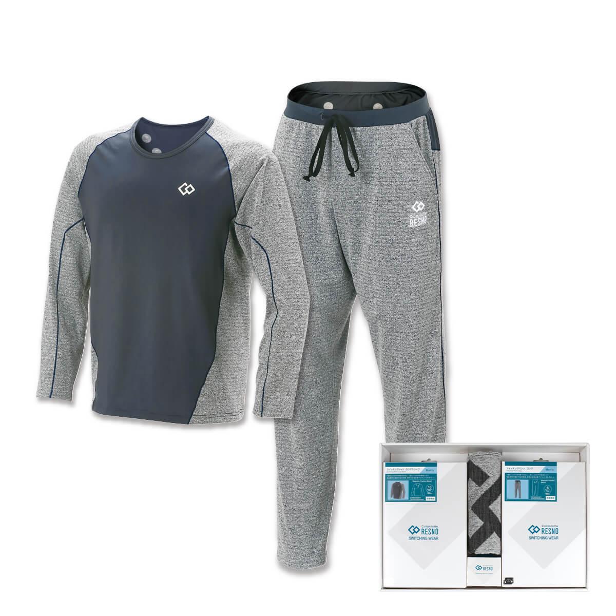 コラントッテRESNO スイッチングシャツ & パンツセット MEN'S(ロング × ロング)