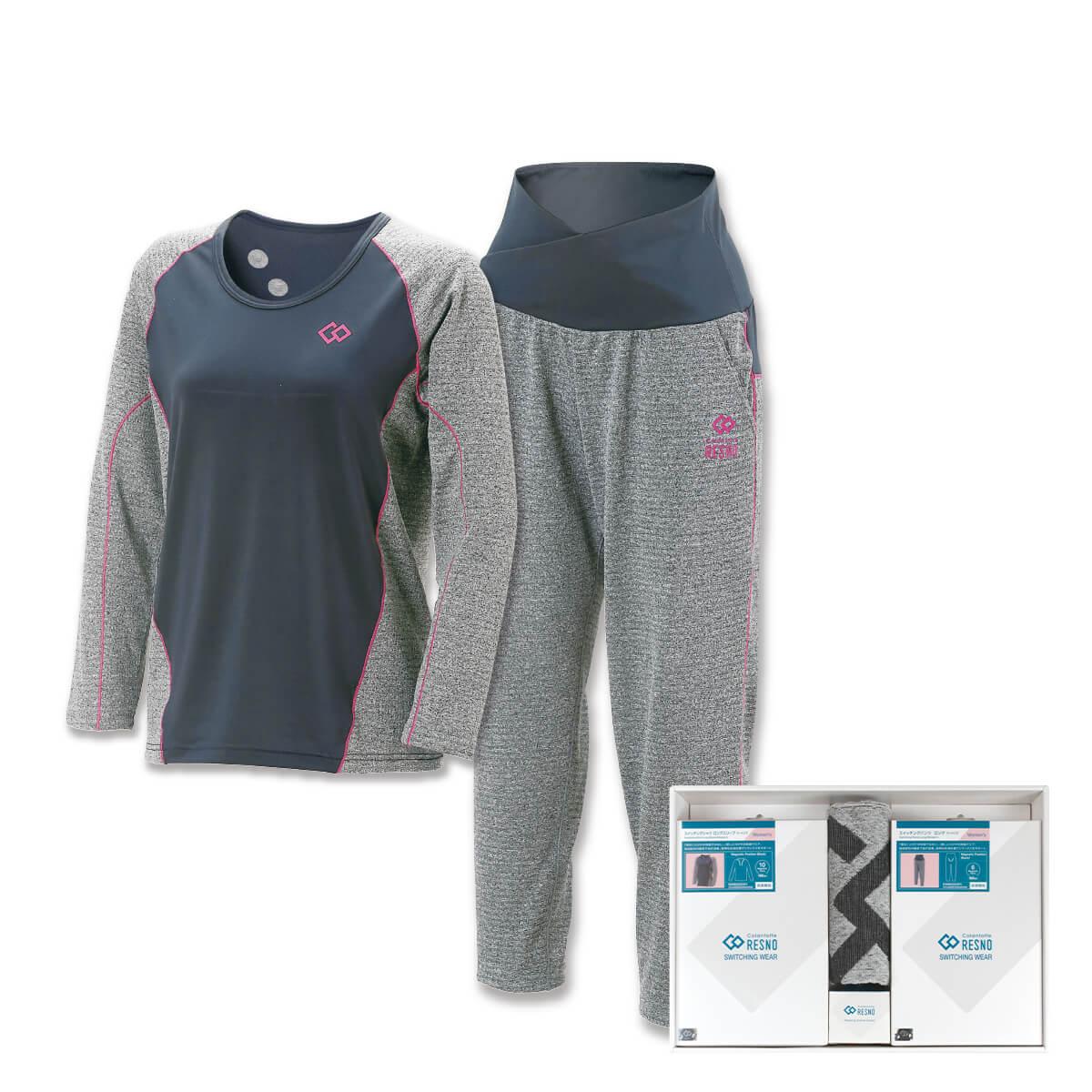 コラントッテRESNO スイッチングシャツ & パンツセット WOMEN'S(ロング × ロング)