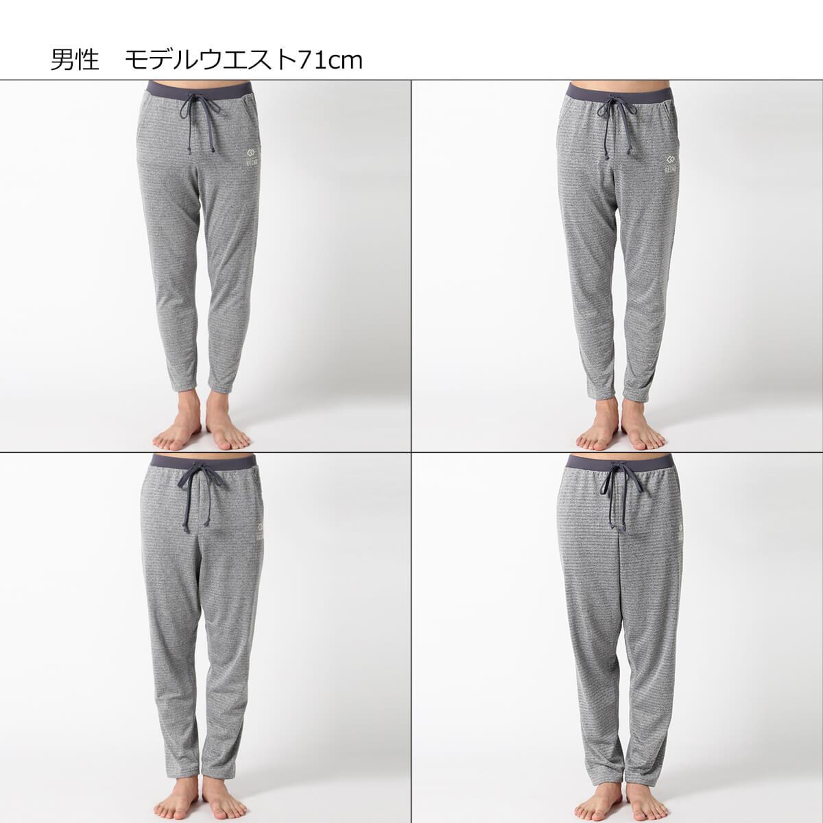 ※着用サイズ:左上/S、右上/M、左下/L、右下/XL
