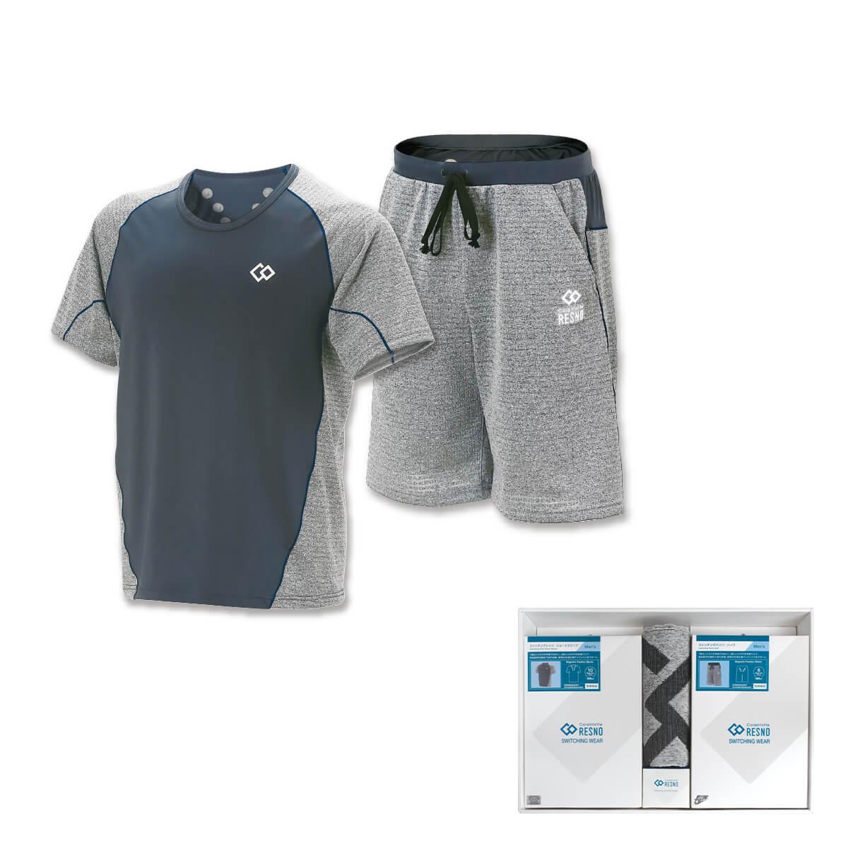 コラントッテRESNO スイッチングシャツ & パンツセット MEN'S(ショート × ハーフ)