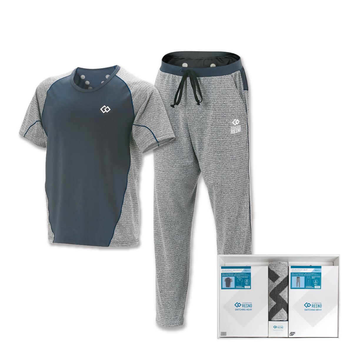 コラントッテRESNO スイッチングシャツ & パンツセット MEN'S(ショート × ロング)